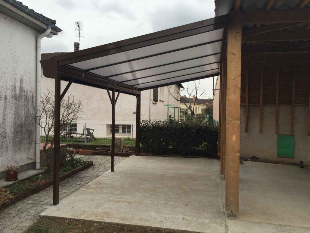 Préaux et couverture de terrasse sur Albi et Rodez - Extend