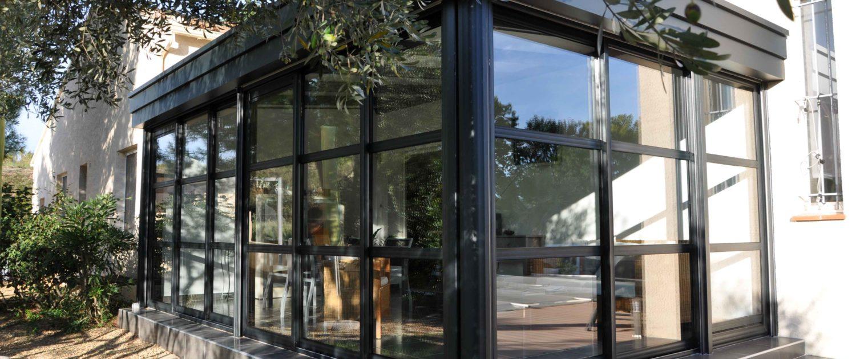 veranda rideau rodez. Black Bedroom Furniture Sets. Home Design Ideas