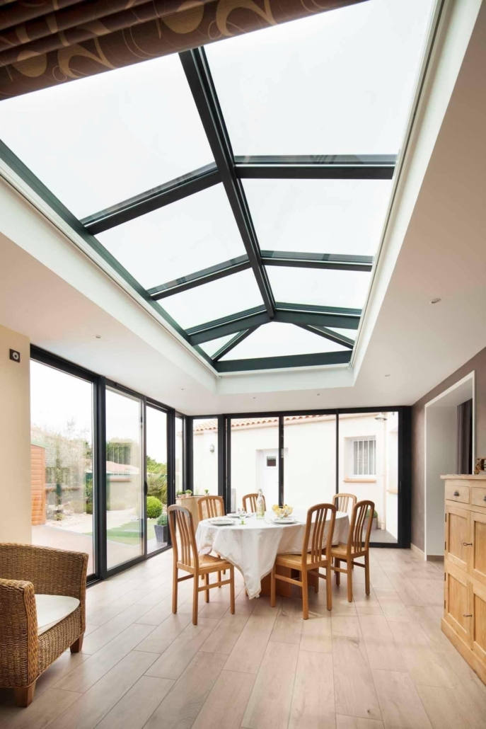 extension dome vitree piece de vie
