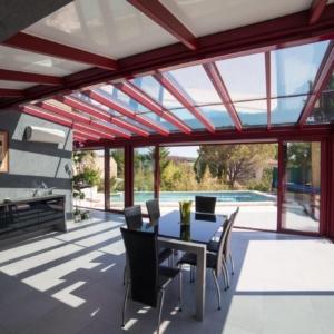 veranda extension cuisine extend grandeur nature tarn aveyron