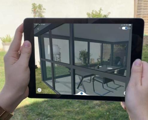 simulation 3d realite augmentee virtuelle albi veranda pergola